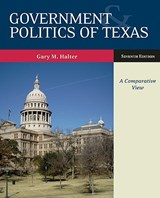 Government & Politics of Texas | Gary M. Halter |