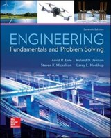 Engineering Fundamentals and Problem Solving | Arvid R. Eide ; Larry L. Northup ; Steven Mickelson |