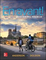 En Avant! Beginning French (Student Edition) | Bruce Anderson |