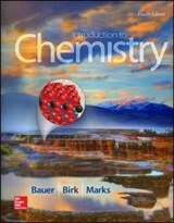 Introduction to Chemistry | Bauer, Richard C. ; Birk, James P. ; Marks, Pamela S. |