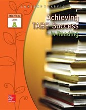 Achieving Tabe Success in Reading, Level a Workbook