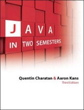 Java in Two Semesters with CD | Quentin Charatan |