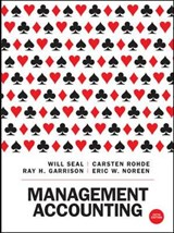 Management Accounting | Will Seal ; Carsten Rohde |