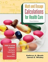 MP Math & Dosage Calculations for Health Care W/Student CD | James Whaley |