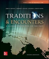 Traditions & Encounters Volume 1 from the Beginning to