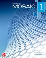 Mosaic Level 1 Reading Student Book | Brenda Wegmann |