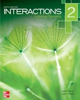 Interactions Level 2 Listening/Speaking Student Book | Judith Tanka |