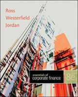 Loose Leaf Essentials of Corporate Finance with Connect Access Card | Stephen A. Ross; Randolph W. Westerfield; Bradford D. Jordan |