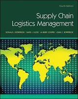 Supply Chain Logistics Management | Donald Bowersox |