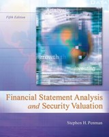 Financial Statement Analysis and Security Valuation | Stephen H. Penman |