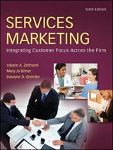 Services Marketing | Valarie A. Zeithaml |