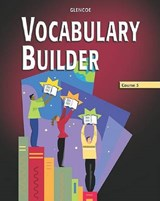 Vocabulary Builder, Course | McGraw-Hill Education |