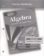 Algebra Practice Workbook