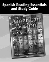 The American Vision, Spanish Reading Essentials and Study Guide