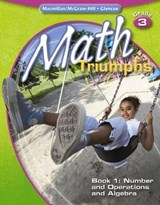 Math Triumphs, Grade 3, Book | McGraw-Hill Education |