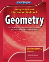 Geometry, Study Guide and Intervention Workbook | McGraw-Hill Education |