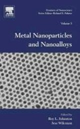 Frontiers of Nanoscience 03. Metal Nanoparticles and Nanoalloys | Roy Johnston |