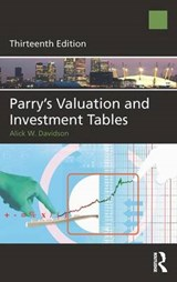Parry's Valuation and Investment Tables | Alick Davidson |