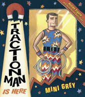 Traction Man Is Here | Mini Grey |
