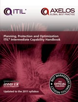Planning, protection and optimization: ITIL 2011 intermediate capability handbook (single copy) | Axelos |