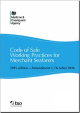 Code of Safe Working Practices for Merchant Seamen | Maritime and Coastguard Agency |