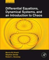 Differential Equations, Dynamical Systems, and an Introduction to Chaos | Morris W. Hirsch |