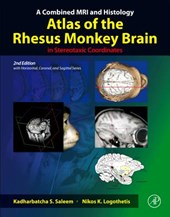 A Combined MRI and Histology Atlas of the Rhesus Monkey Brain in Stereotaxic Coordinates | Kadharbatcha S. Saleem |
