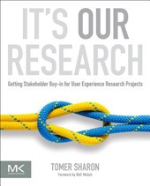 It's Our Research | Tomer Sharon |