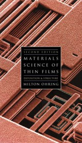 Materials Science of Thin Films | Milton Ohring |