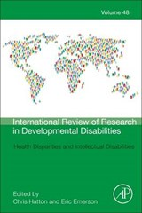Health Disparities and Intellectual Disabilities |  |