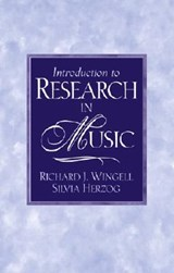 Introduction to Research in Music | Richard Wingell |