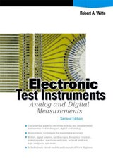 Electronic Test Instruments | Robert A. Witte |