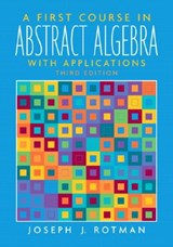 A First Course In Abstract Algebra | Joseph J. Rotman |