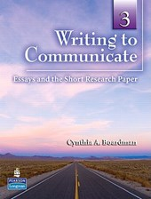 Writing to Communicate