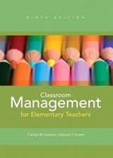 Classroom Management for Elementary Teachers | Evertson, Carolyn M. ; Emmer, Edmund T. |