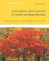 Assessment Procedures for Counselors and Helping Professionals | Drummond, Robert J. ; Sheperis, Carl J. ; Jones, Karyn Dayle |