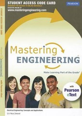 Masteringengineering with Pearson Etext -- Access Card -- For Electrical Engineering | S. a. Reza Zekavat |