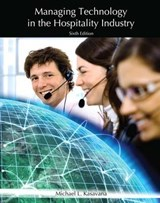 Managing Technology in the Hospitality Industry with Answer Sheet (Ahlei) | Peter Jones |
