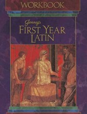 Jenney's First Year Latin Grades 8-12 Workbook 1990c