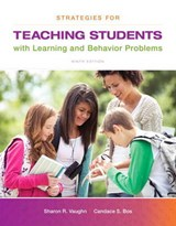 Strategies for Teaching Students with Learning and Behavior Problems, Video-Enhanced Pearson Etext -- Access Card | Sharon R. Vaughn |