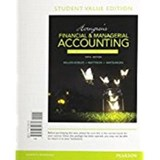 Horngren's Financial & Managerial Accounting, the Financial Chapters, Student Value Edition | Tracie L. Miller-Nobles |