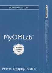 Myomlab with Pearson Etext -- Access Card -- For Introduction to Operations and Supply Chain Management