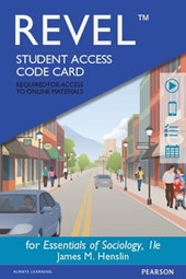Essentials of Sociology Revel Access Card