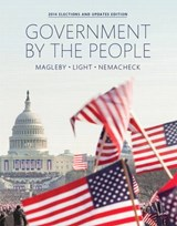 Government by the People | Magleby, David B. ; Light, Paul C. ; Nemacheck, Christine L. |