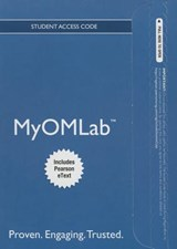 Myomlab with Pearson Etext -- Access Card -- For Managing Supply Chain and Operations | S. Thomas Foster |