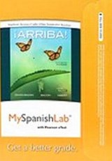 Iarriba! MySpanishLab with Pearson eText Access Code | Eduardo Zayas-Bazan; Susan Bacon; Holly J Nibert |