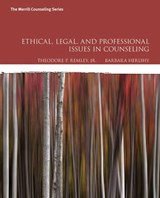 Ethical, Legal, and Professional Issues in Counseling | Remley, Theodore P., Jr. ; Herlihy, Barbara |