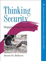 Thinking Security | Steven M. Bellovin |