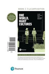 One World, Many Cultures, Books a la Carte | Stuart Hirschberg |