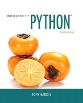 Starting Out With Python | Tony Gaddis |